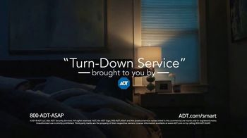 ADT TV Spot, 'Turn-Down Service' - 2862 commercial airings