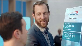 Capital One TV Spot, 'Uphill Battle' Featuring Jeremy Brandt - Thumbnail 9