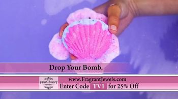 Fragrant Jewels Bath Bombs and Candles TV Spot, 'Surprise' - Thumbnail 3