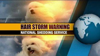 True Touch Deshedding Glove TV Spot, 'Winter Hair Storm Warning'