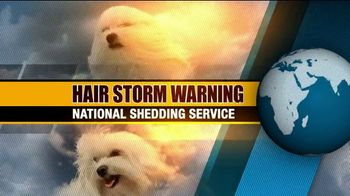True Touch Deshedding Glove TV Spot, 'Winter Hair Storm Warning'