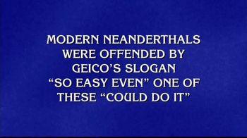 GEICO TV Spot, 'Jeopardy!: Caveman'