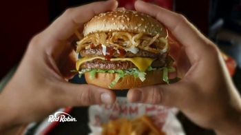 Red Robin Cowboy Ranch Tavern Double TV Spot, 'Giddy Up'