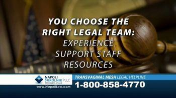 Napoli Shkolnik PLLC TV Spot, 'Transvaginal Mesh Legal Helpline' - Thumbnail 8
