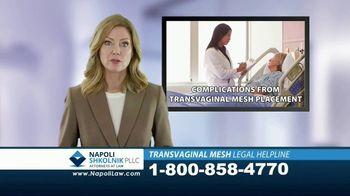 Napoli Shkolnik PLLC TV Spot, 'Transvaginal Mesh Legal Helpline' - Thumbnail 1