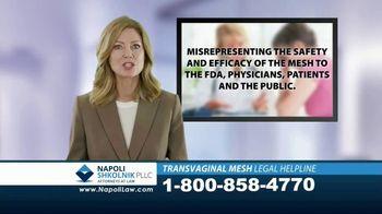 Napoli Shkolnik PLLC TV Spot, 'Transvaginal Mesh Legal Helpline' - Thumbnail 6