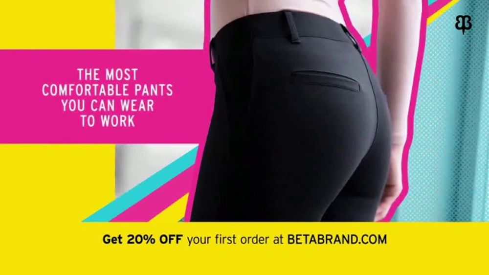 a917e440eea6d Betabrand TV Commercial, 'The Most Comfortable Pants You Can Wear to Work'  - iSpot.tv
