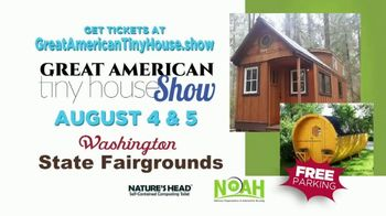 Great American Tiny House Show TV Spot, 'Washington State Fairgrounds' - Thumbnail 10