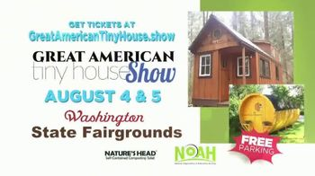 Great American Tiny House Show TV Spot, 'Washington State Fairgrounds' - Thumbnail 9