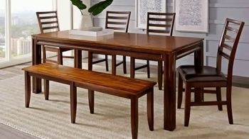 Rooms to Go Summer Sale and Clearance TV Spot, 'Closeout Dining Sets'