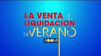 Rooms to Go Venta y Liquidación de Verano TV Spot, 'Dormitorios' [Spanish] - Thumbnail 1
