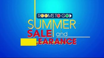 Rooms to Go Summer Sale and Clearance TV Spot, 'Sofas & Loveseats' - Thumbnail 1
