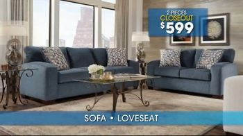 Rooms to Go Summer Sale and Clearance TV Spot, 'Sofas & Loveseats' - Thumbnail 6