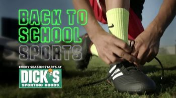 Dick's Sporting Goods TV Spot, 'Back to School: Footwear and Apparel''