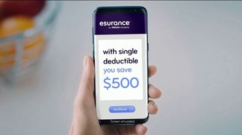 Esurance TV Spot, 'Double Trouble? Single Deductible' - Thumbnail 6