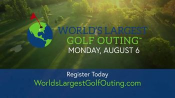 2018 World's Largest Golf Outing TV Spot, 'Tee It Up' - Thumbnail 9