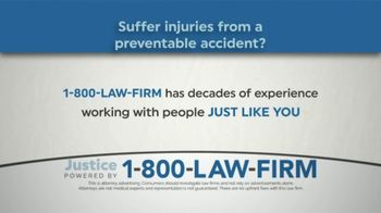 1-800-LAW-FIRM TV Spot, 'Personal Injury Attorneys' - Thumbnail 1