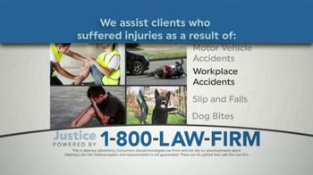 1-800-LAW-FIRM TV Spot, 'Personal Injury Attorneys'