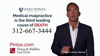 Pintas & Mullins Law Firm TV Spot, 'Medical Mistakes'