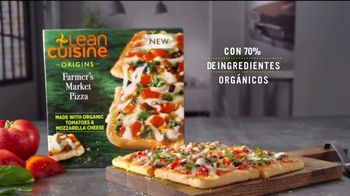 Lean Cuisine Origins Farmers Market Pizza TV Spot, 'Alimentar' [Spanish] - Thumbnail 5