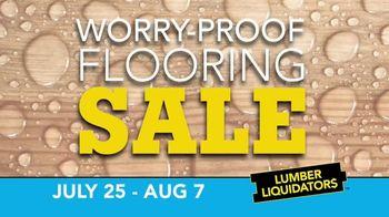Lumber Liquidators Worry-Proof Flooring Sale TV Spot, 'Wood-Look' - Thumbnail 2