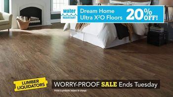 Lumber Liquidators Worry-Proof Flooring Sale TV Spot, 'Wood-Look' - Thumbnail 4
