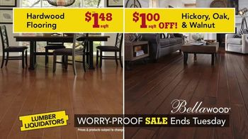 Lumber Liquidators Worry-Proof Flooring Sale TV Spot, 'Wood-Look' - Thumbnail 5