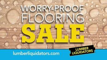 Lumber Liquidators Worry-Proof Flooring Sale TV Spot, 'Wood-Look' - Thumbnail 7