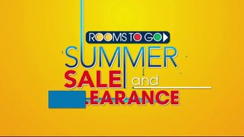 Rooms to Go Summer Sale and Clearance TV Spot, 'Dining Sets' - Thumbnail 1