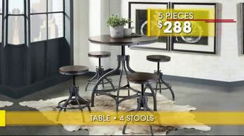 Rooms to Go Summer Sale and Clearance TV Spot, 'Dining Sets' - Thumbnail 4