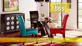 Rooms to Go Summer Sale and Clearance TV Spot, 'Dining Sets' - Thumbnail 7