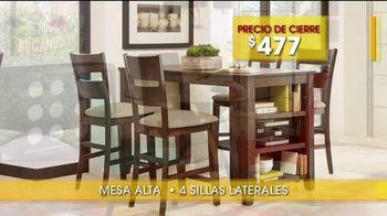 Rooms to Go Venta y Liquidación de Verano TV Spot, 'Comedores' [Spanish] - Thumbnail 4