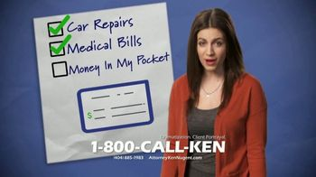 Kenneth S. Nugent: Attorneys at Law TV Spot, 'Check' - Thumbnail 4