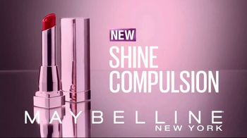 Maybelline New York Shine Compulsion TV Spot, 'Color Sensational' - Thumbnail 3