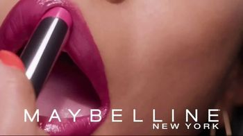 Maybelline New York Shine Compulsion TV Spot, 'Color Sensational' - Thumbnail 6