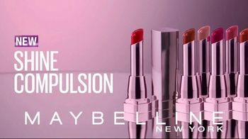 Maybelline New York Shine Compulsion TV Spot, 'Color Sensational' - Thumbnail 7