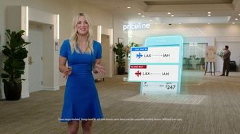 Priceline.com TV Spot, 'Wedding' Featuring Kaley Cuoco - Thumbnail 2