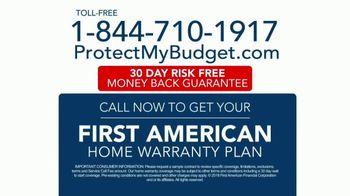 First American Home Warranty Plan TV Spot, 'Don't Wait' - Thumbnail 10