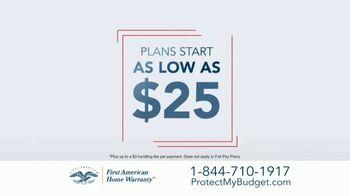 First American Home Warranty Plan TV Spot, 'Don't Wait' - Thumbnail 5