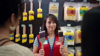 Lowe's TV Spot, 'The Moment: Painting Project' - Thumbnail 5