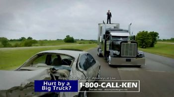 Kenneth S. Nugent: Attorneys at Law TV Spot, 'Hundred of Big Truck Cases' - Thumbnail 3