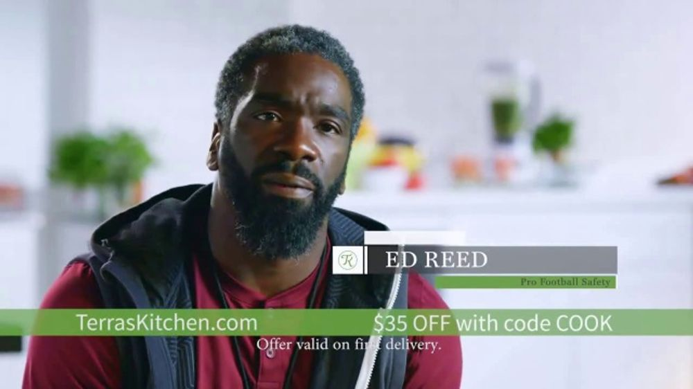 Terra's Kitchen TV Commercial, 'Longevity' Featuring Ed Reed