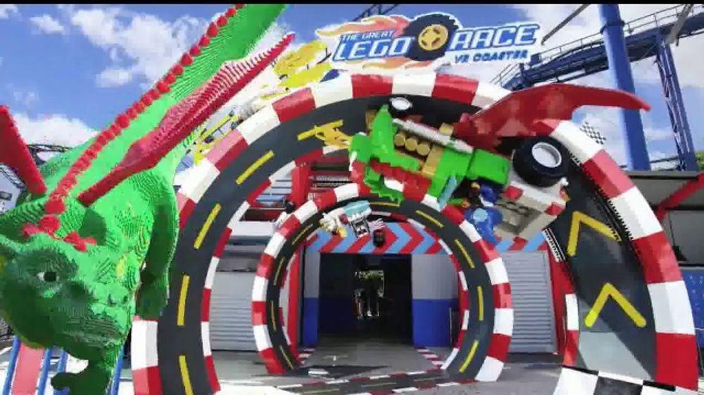 LEGOLAND Florida Resort TV Commercial, 'The Great LEGO Race'