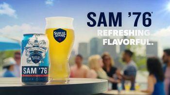 Samuel Adams Sam '76 TV Spot, 'The Most Refreshing' Song by Luiz Bonfa - Thumbnail 8
