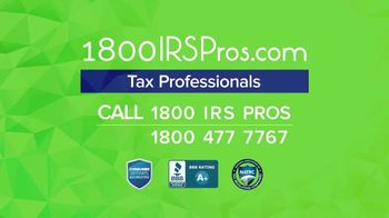 1-800-IRS-Pros TV Spot, 'We've Helped Thousands' - Thumbnail 9