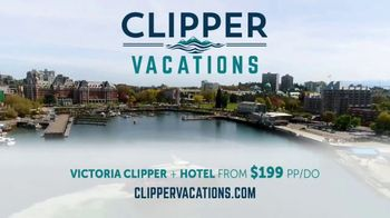 Clipper Vacations TV Spot, 'Seattle to Victoria Summer Getaway' - Thumbnail 10