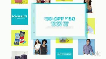 Belk Biggest Stock Up Sale TV Spot, 'Bonus Buys' - Thumbnail 3