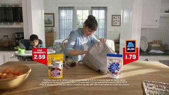 ALDI TV Spot, 'I Like ALDI: Yogurt Bites' - 594 commercial airings