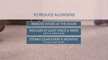 Empire Today Home Fresh TV Spot, 'Reduce Allergens' - Thumbnail 1