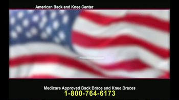 American Back and Knee Center TV Spot, 'Back and Knee Braces' - Thumbnail 1